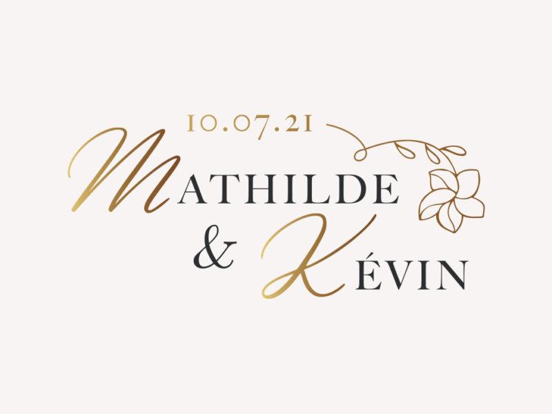logo mariage or