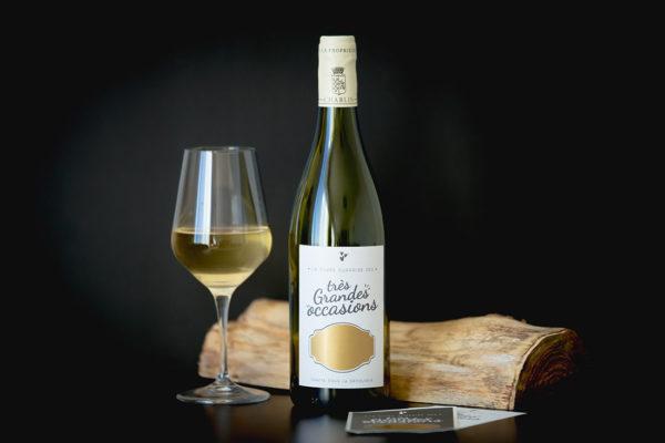 etiquette bouteille de vin a gratter