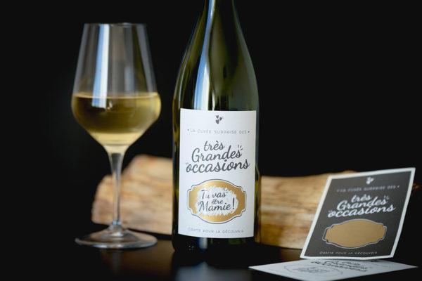 etiquette vin personnalise